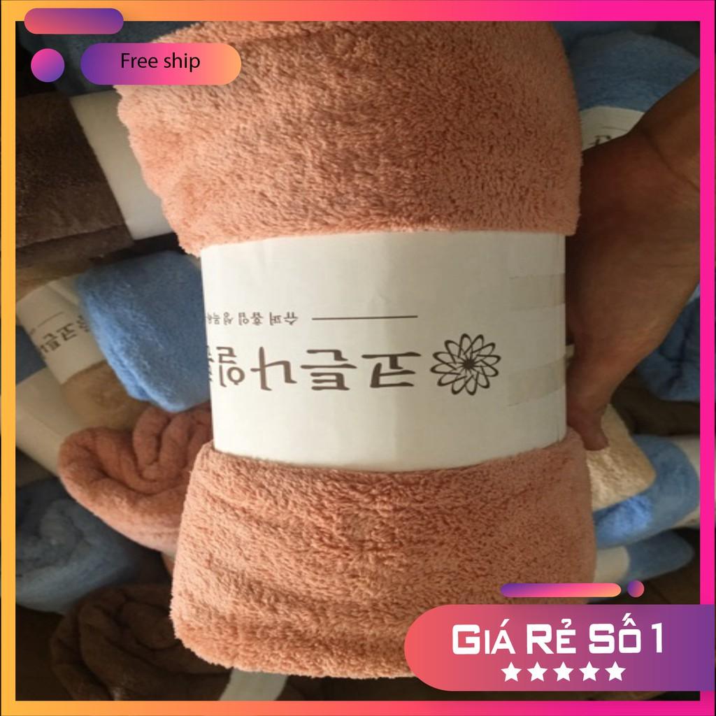 [Hàng CAO CẤP]  Khăn Tắm Hàn Quốc Cao Cấp size lớn70x140 - Dupi Mart