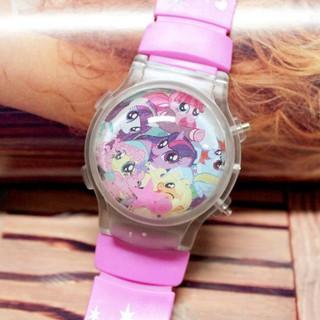 Đồng hồ điện tữ chớp đèn Pony bé nhỏ tình bạn diệu kỳ