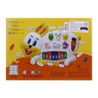 Cơ Hội Sở Hữu Ngay – Đồ chơi Đàn pin hình thỏ- 3RHM001