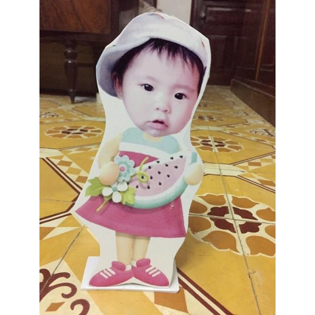 Combo trang trí sonh nhật bé Kim Ngân