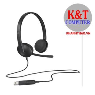 [Mã ELMSBC giảm 8% đơn 300k] Tai nghe On-ear Logitech H340 (Đen) - Hàng chính hãng