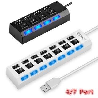 Bộ sạc đa cổng 2.0 và cổng 4 cổng USB-HUB