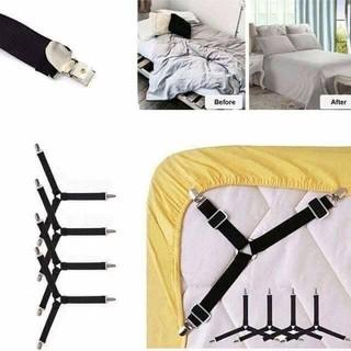 kẹp ga gra nệm giường chống xê dịch 4 goc