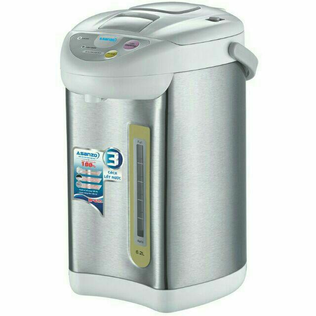 Bình thủy điện 6,2 lit Asanzo HP6215