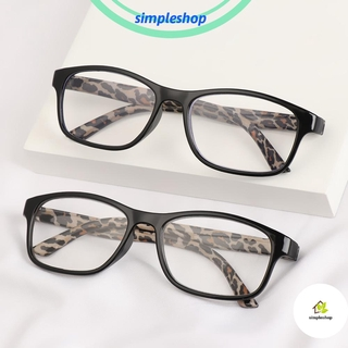 ❀SIMPLE❀ +1.00~+4.00 Reading Glasses High-definition PC Frames Presbyopic Glasses Vision Care Portable Ultralight Unisex Eyeglasses