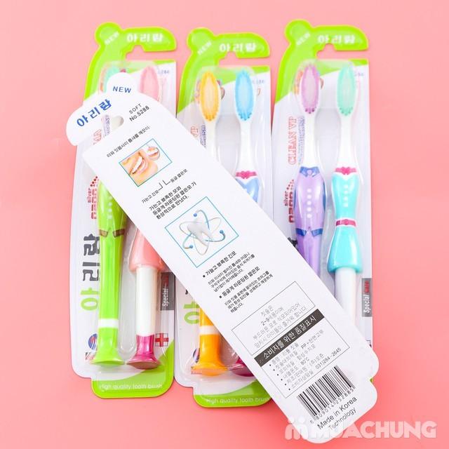 Bàn chải đánh răng lông tơ Hàn Quốc
