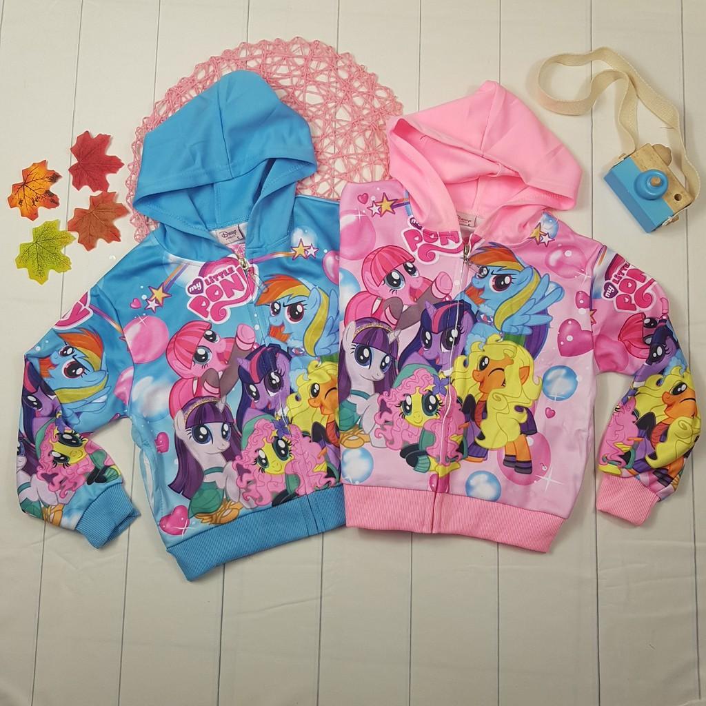 Áo khoác Pony cho bé