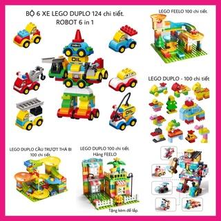 Bộ sưu tập đồ chơi xếp hình Lego Duplo cho bé phát triển tư duy trí tuệ, mô hình lắp ráp giúp trẻ thông minh sáng tạo thumbnail