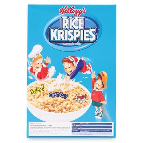Ngũ cốc Thái Lan Rice Krispies Kellogg's hộp 130g