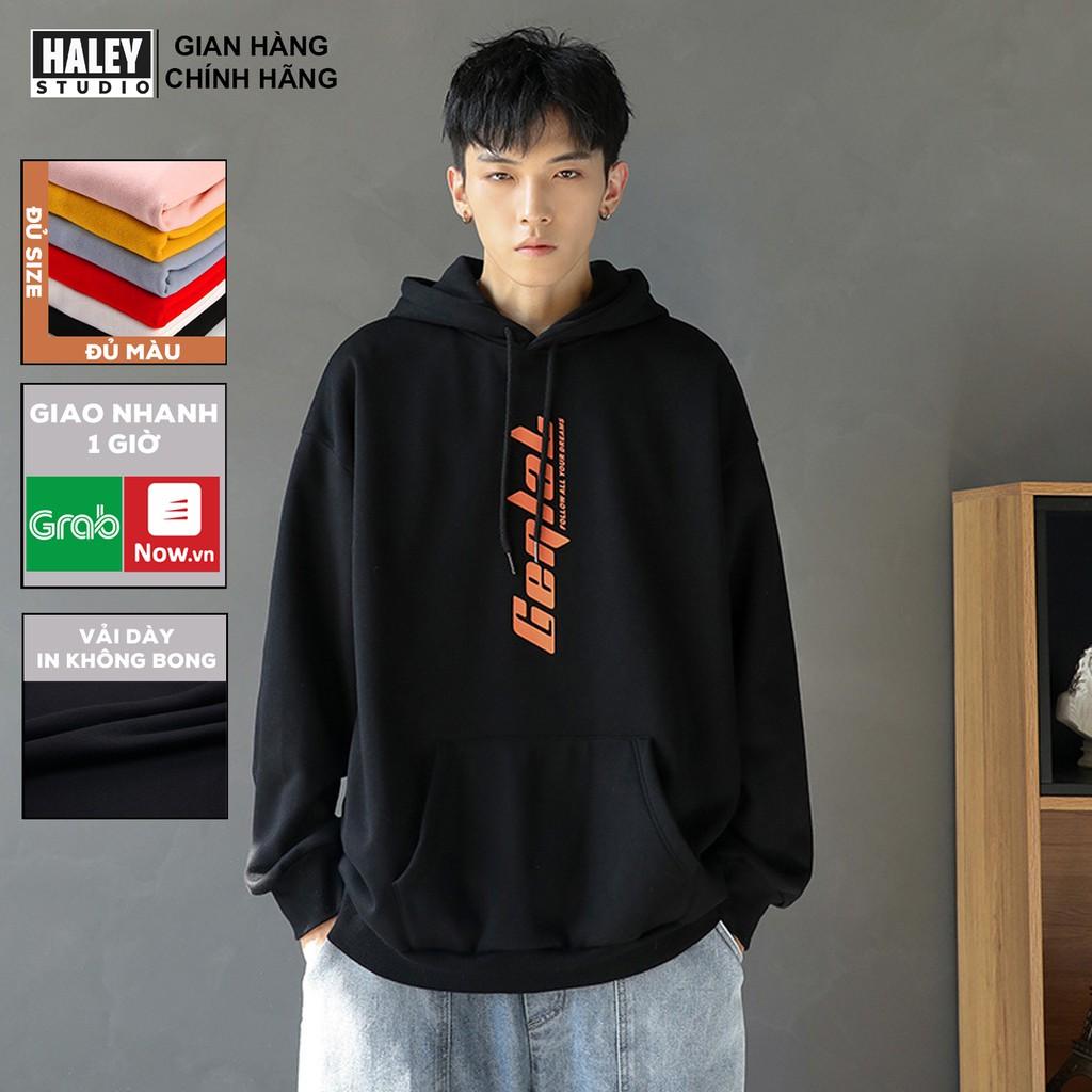Áo Hoodie Gelal đủ màu Unisex phong cách Hàn Quốc cá tính, Chất nỉ bồng đẹp mã HD89 - Tặng vòng xinh