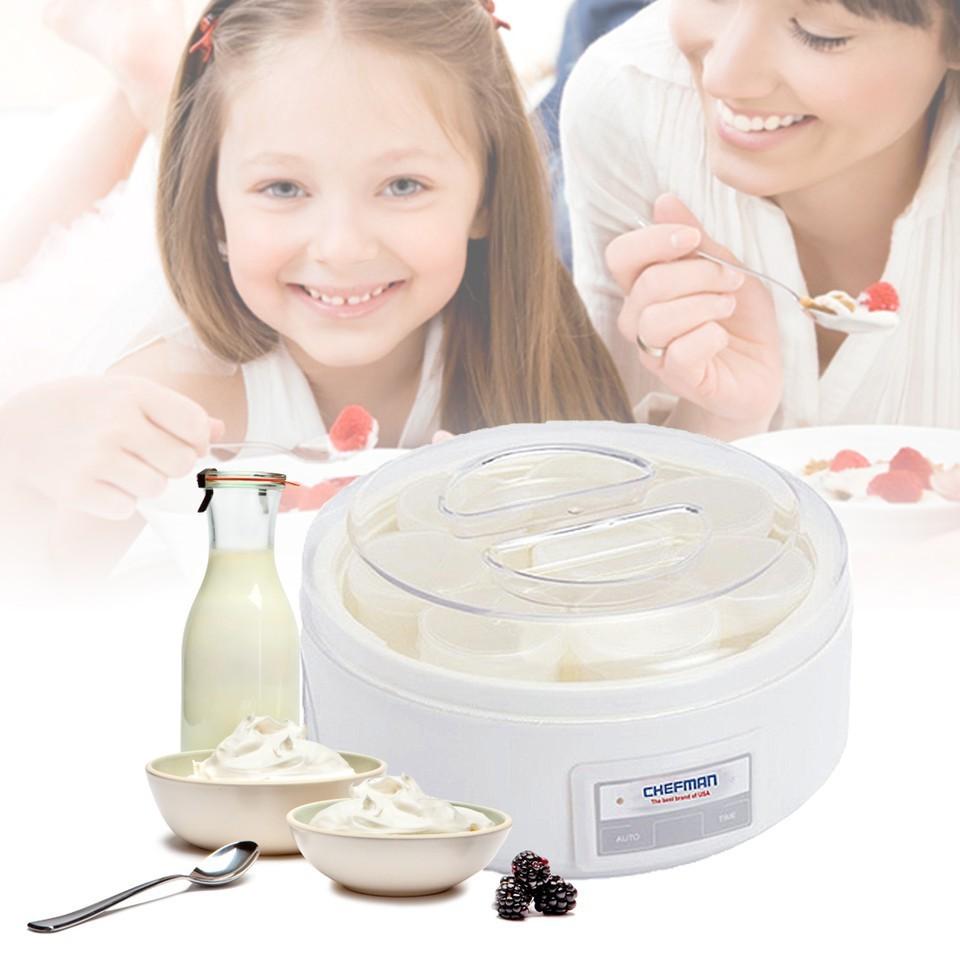 Máy làm sữa chua 16 cốc Chefman -Bảo hành 24 tháng - 2767038 , 92121360 , 322_92121360 , 115000 , May-lam-sua-chua-16-coc-Chefman-Bao-hanh-24-thang-322_92121360 , shopee.vn , Máy làm sữa chua 16 cốc Chefman -Bảo hành 24 tháng