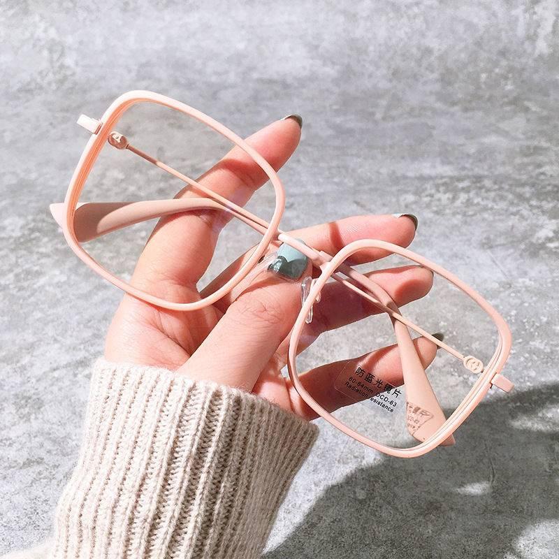 Mắt kính chống bức xạ máy tính phong cách Vintage mới năm 2021