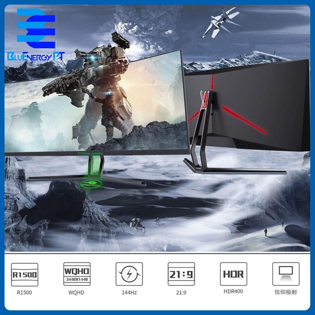 màn hình gaming 144hz TITAN ARMY 34 inch quasi-4K của Titans  esports 21: 9 r1500