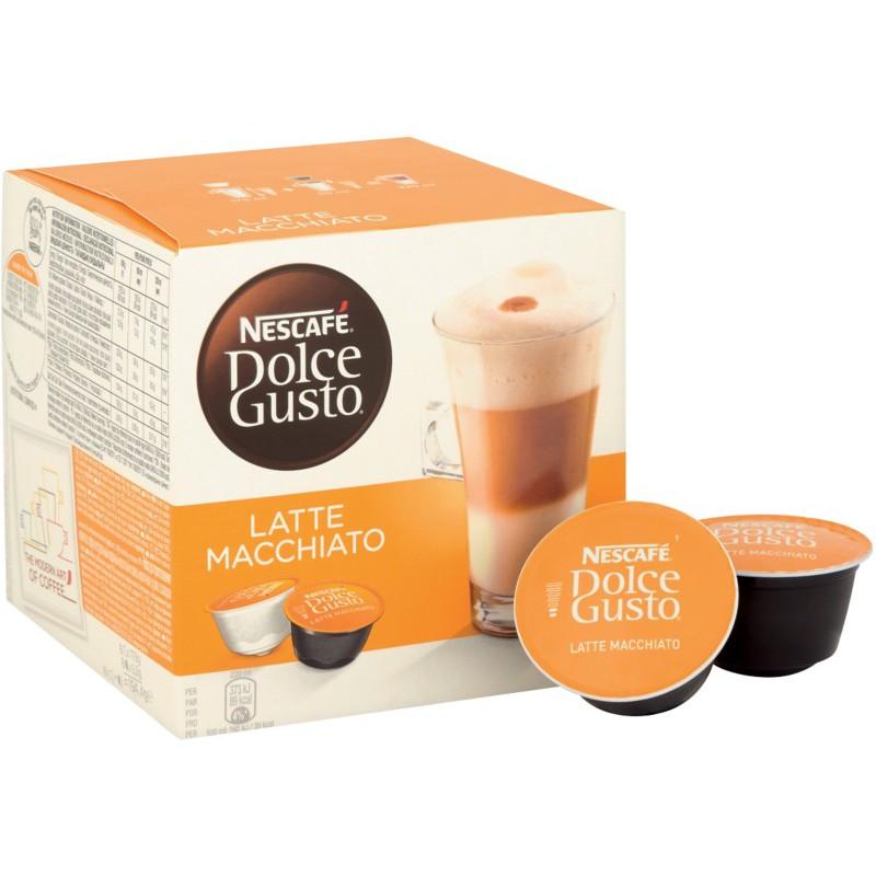 Viên Nén Cà Phê Sữa Nescafe Dolce Gusto Latte Macchiato