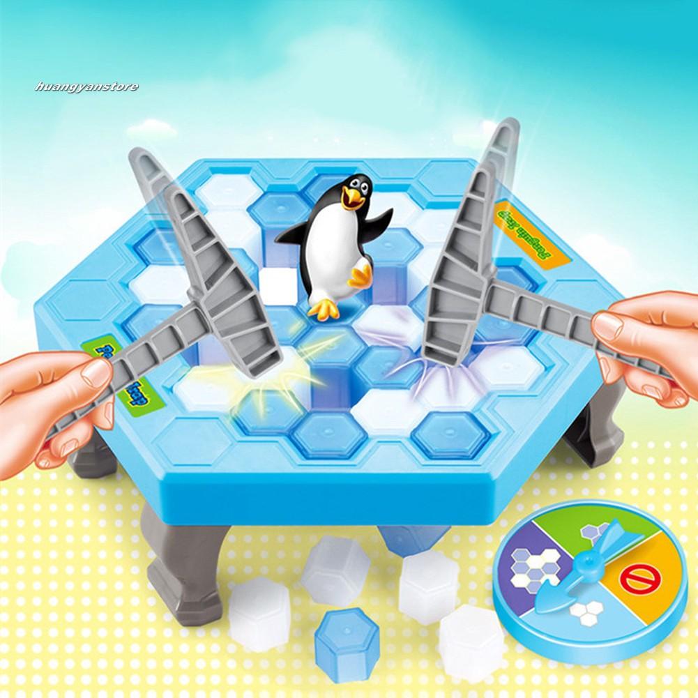 Bộ đồ chơi đập băng giải cứu chim cánh cụt