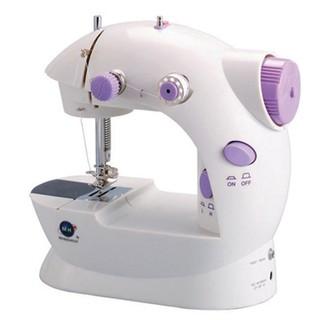 Máy may mini Sewing Machine SM-202A CMD (Trắng phối tím) thumbnail