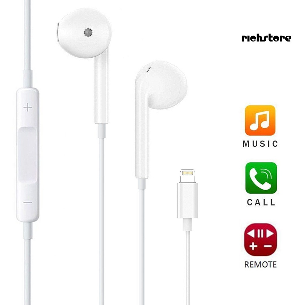 EJ_In-Ear Bluetooth Earphone Headset with Microphone for iPhone 7 8 X Xs Max XR