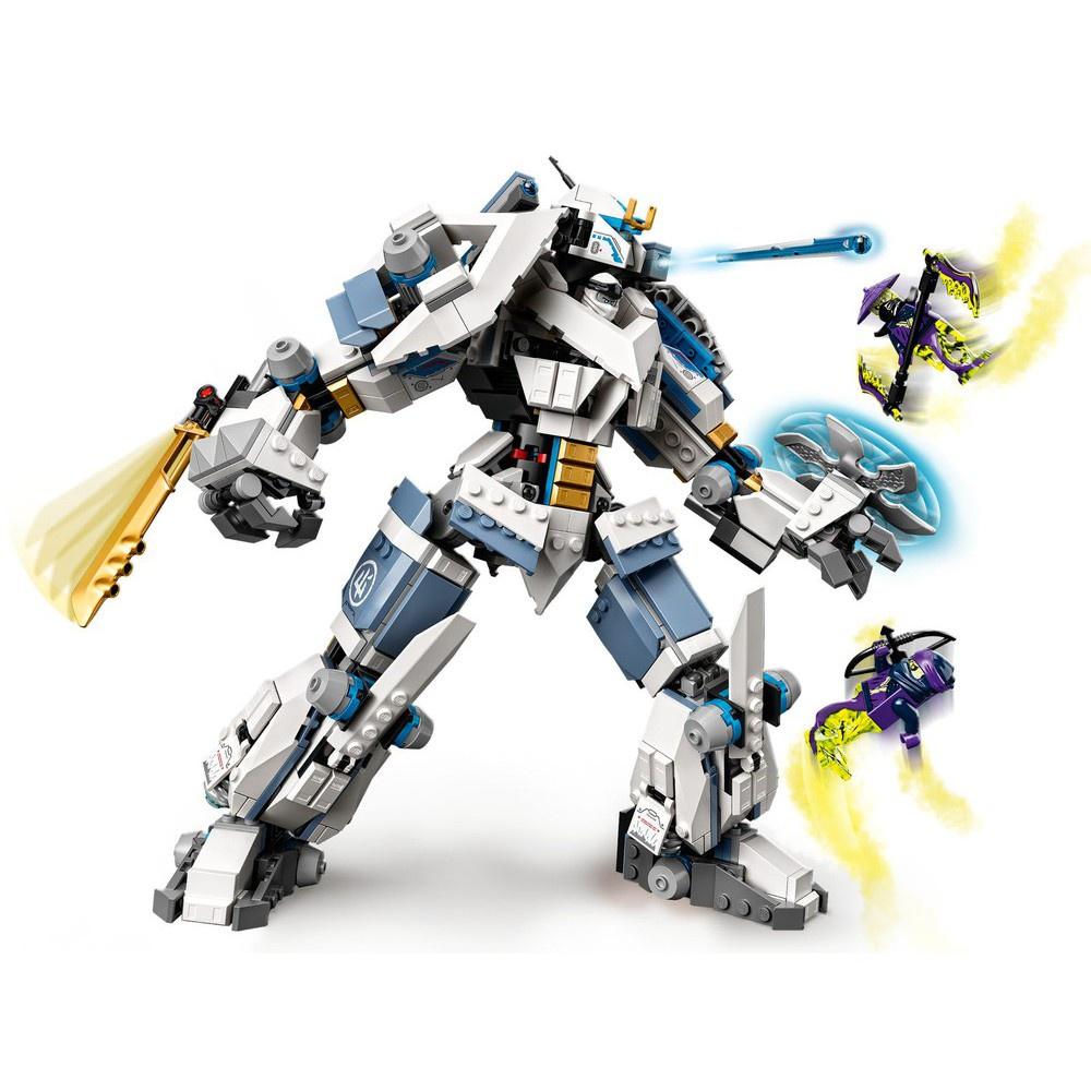 [Rẻ Vô Địch] Đồ Chơi Lắp Ghép Mô Hình Robot Ninja Go 99901