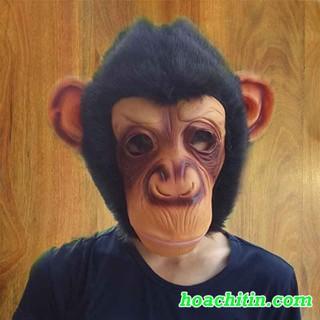 Mặt nạ cao su khỉ – MẶT NẠ HALLOWEEN KINH DỊ