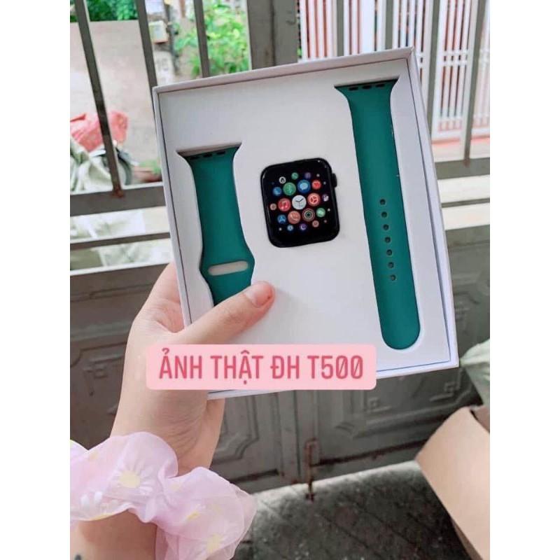 Đồng Hồ Thông Minh T500 S5 Thay Được Ảnh Thay Dây kết nối bluetooth 44mm Đo nhịp tim bảo