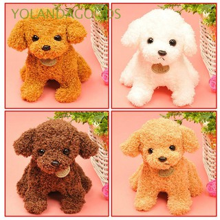 25cm Fashion Gifts Soft Cute Curly Fur Puppy Doll