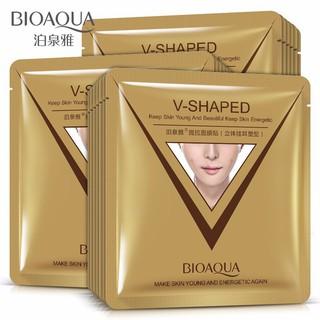 Combo 10 miếng mặt nạ Vline V-shaped làm thon gọn mặt của Bioaqua thumbnail