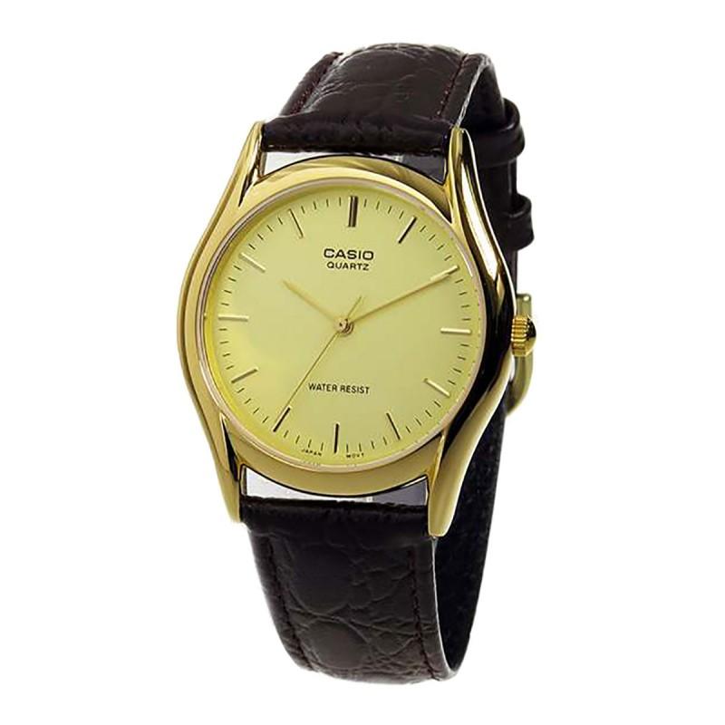 Đồng hồ nam Casio CHÍNH HÃNG MTP-1094Q-9A, DÂY DA
