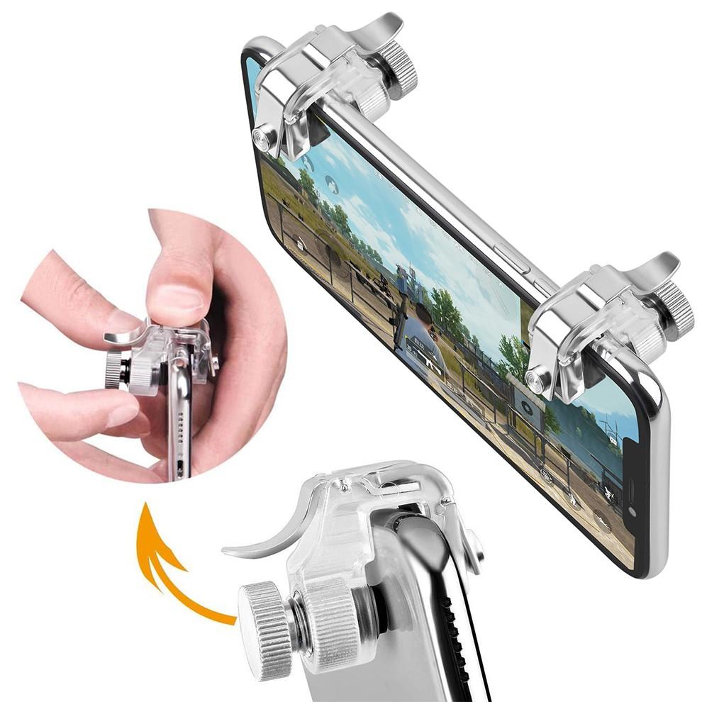 Bộ 2 Nút Bấm Cơ R11 Chốt Vặn Trên Điện Thoại Hỗ Trợ Chơi Game PUBG Mobile, Ros Mobile bản nâng cấp