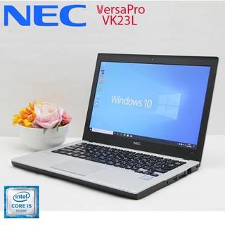 Laptop Nhật NEC VersaPro VK23 Core i5, 8gb Ram, 256gb SSD, 12.7inch HD thumbnail