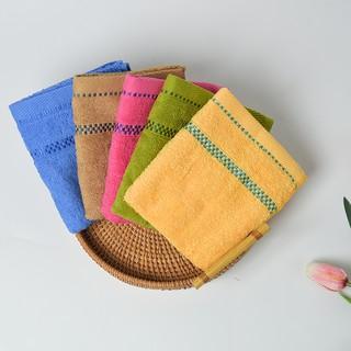 Khăn mặt cotton Nam Đô cao cấp,khăn lau mặt sợi tre kháng khuẩn kích thước 30x50 -20085 thumbnail