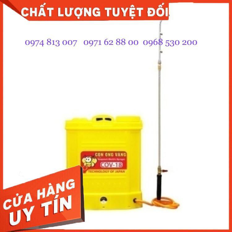 Máy phun thuốc trừ sâu con ong vàng 18, Bình xịt điện COV-18 Giá cực Rẻ