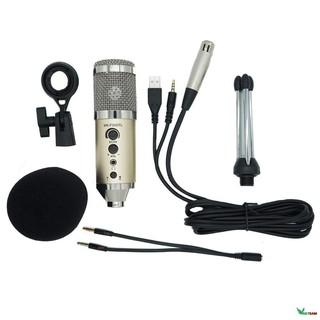 Micro livestream 3trong1 MK-F500TL BH 6 tháng - Micro thu âm cho điện thoại và máy tính MK F500TL - Micro karaoke F500