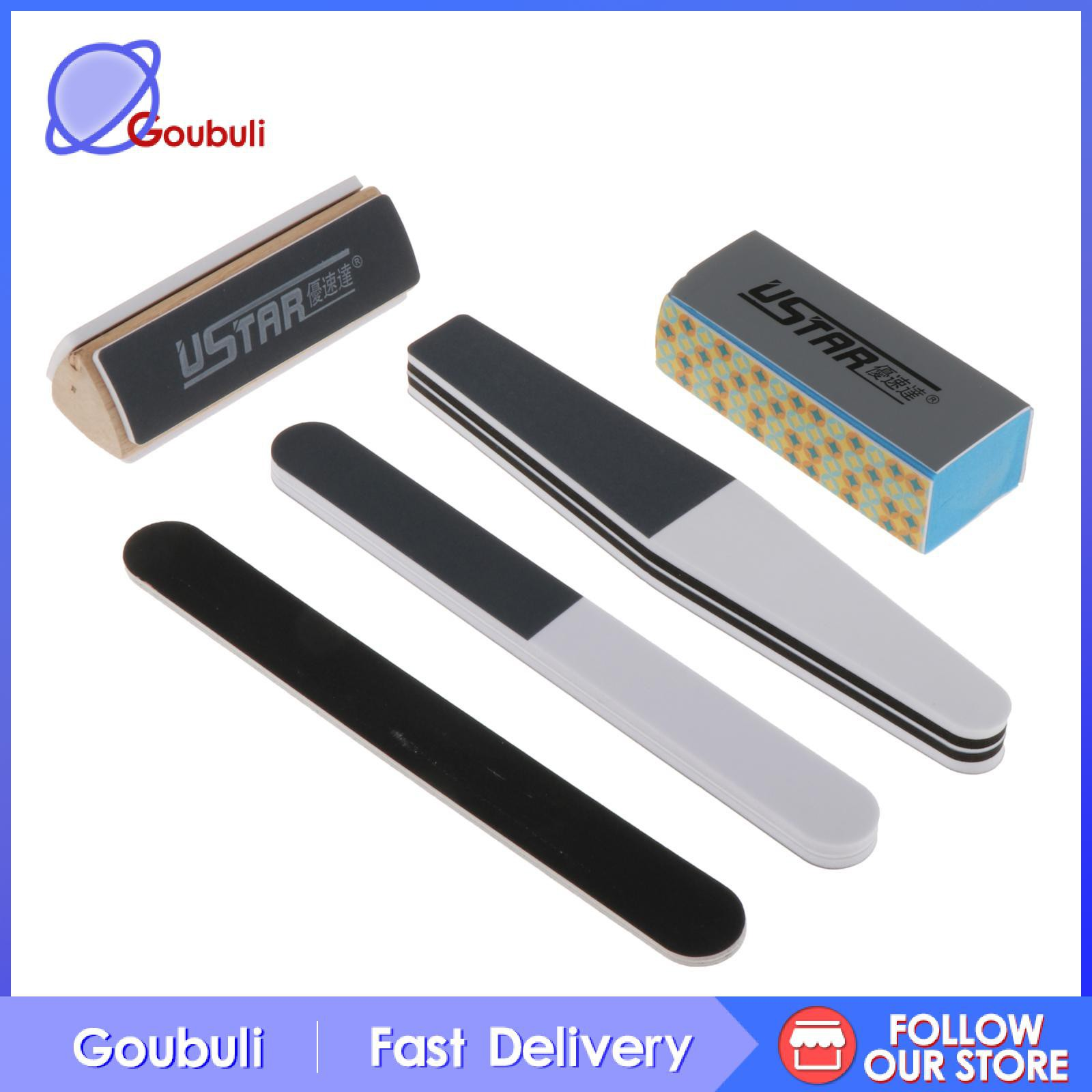 [Goubuli] Craft Model Tools Kit 5Pcs Sanding & Polishing Tools Kit for Craft Model