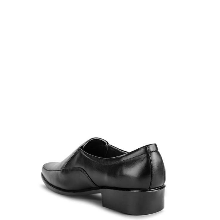 [Sale 3/3]Giày Tây Nam Da Bò SUNPOLO Đen - SUS150D -x13