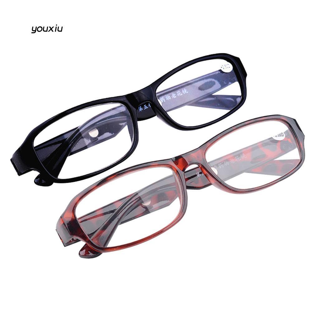 YOXU_Reading Glasses +4.5 +5.0 +5.5 +6.0 Strength Optical Lens Spectacles Eyewear