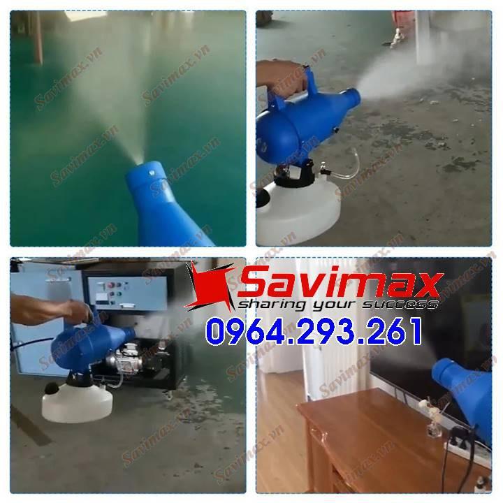 Máy phun sương Savimax SV14 khử khuẩn không khí, bề mặt, phun khử khuẩn phòng mổ, y tế