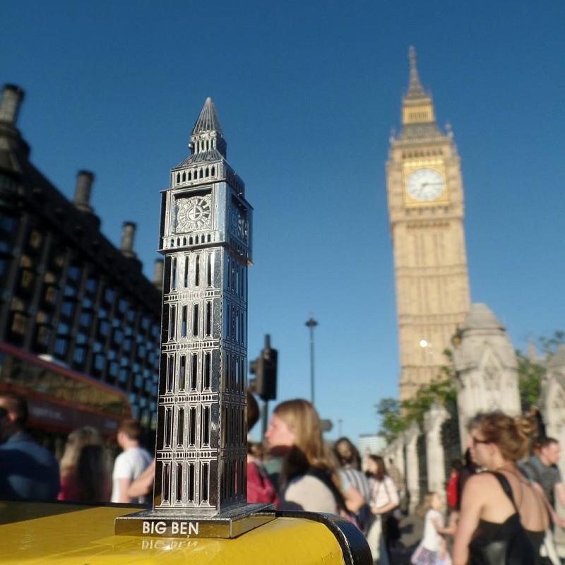 Mô hình 3D kim loại lắp ráp Tháp Big Ben [Chưa lắp]