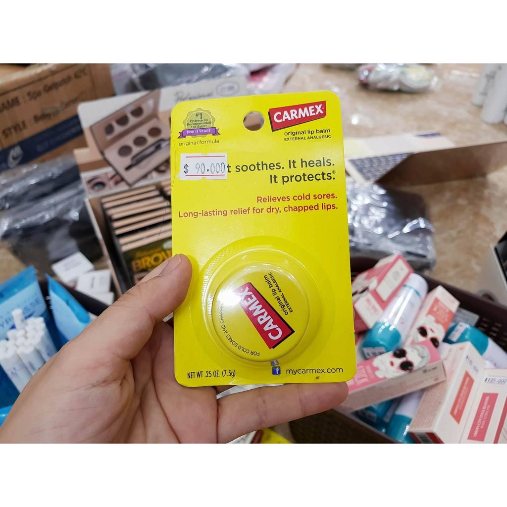 Dưỡng môi Carmex Original Lip Balm - 3329894 , 680225226 , 322_680225226 , 90000 , Duong-moi-Carmex-Original-Lip-Balm-322_680225226 , shopee.vn , Dưỡng môi Carmex Original Lip Balm