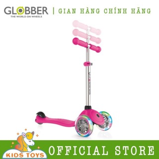 Xe trượt scooter Globber Primo Lights - Hồng