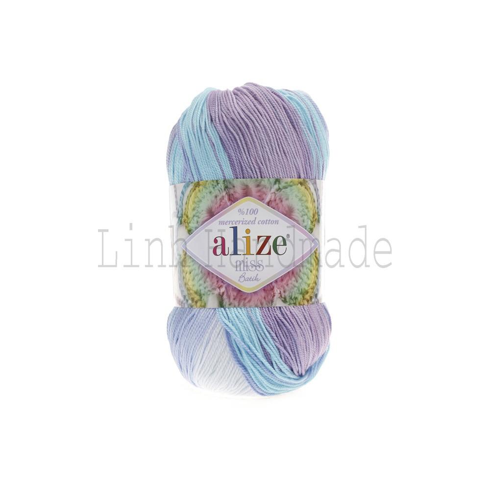 Cuộn Len Alize Miss Batik 3720