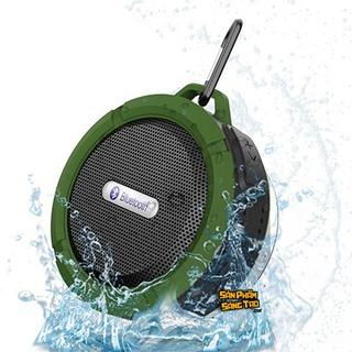 Loa bluetooth C6 mini, vỏ nhôm, di động, âm thanh to