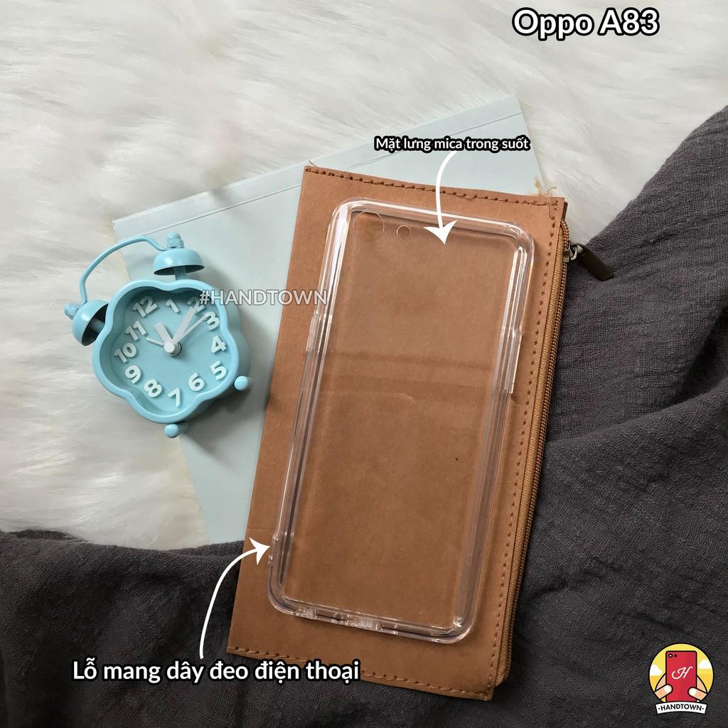 Ốp lưng Oppo A83 dẻo Nhám Siêu mỏng VIỀN TRONG - 3356385 , 909968150 , 322_909968150 , 39000 , Op-lung-Oppo-A83-deo-Nham-Sieu-mong-VIEN-TRONG-322_909968150 , shopee.vn , Ốp lưng Oppo A83 dẻo Nhám Siêu mỏng VIỀN TRONG