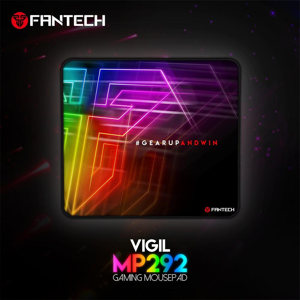 Combo FANTECH Chuột VX7 CRYPTO Đen/Trắng + Lót Chuột MP25/MP292
