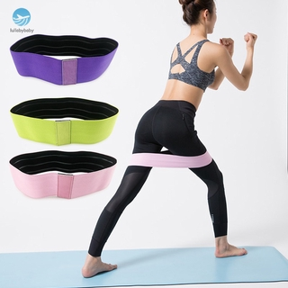 """""""ready stock"""" Resistance Hip Band Leg Band for Hip Workout Physical Stretchable Non-Slip Loops"""