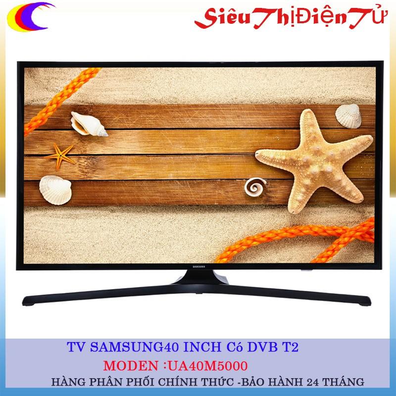 [SIỆU THỊ ĐIỆN TỬ]Tivi Samsung 40 inch UA40M5000 Có DVB T2