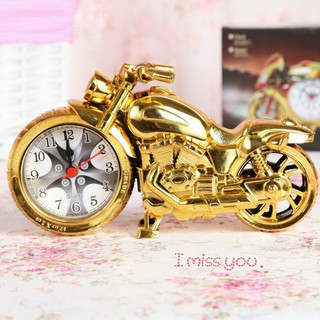PVN12904 Đồng hồ báo thức để bàn hình xe mô tô, xe đạp T2