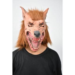 Mặt nạ Halloween chó sói điên loạn