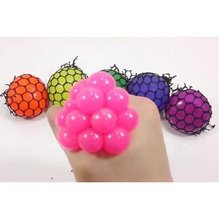 [răng khểnh]Combo 5 Quả Trứng Lưới – Stress Ball[móc khóa]