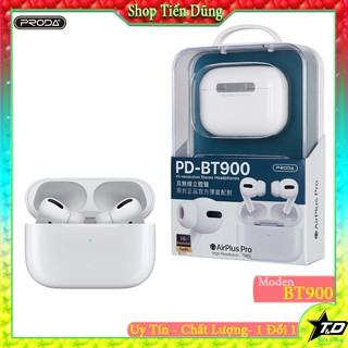Tai nghe bluetooth remax PRODA PD BT900 True Wireless - Tai nghe không dây kèm đốc sạc kiểu dáng 1:1 với appepp