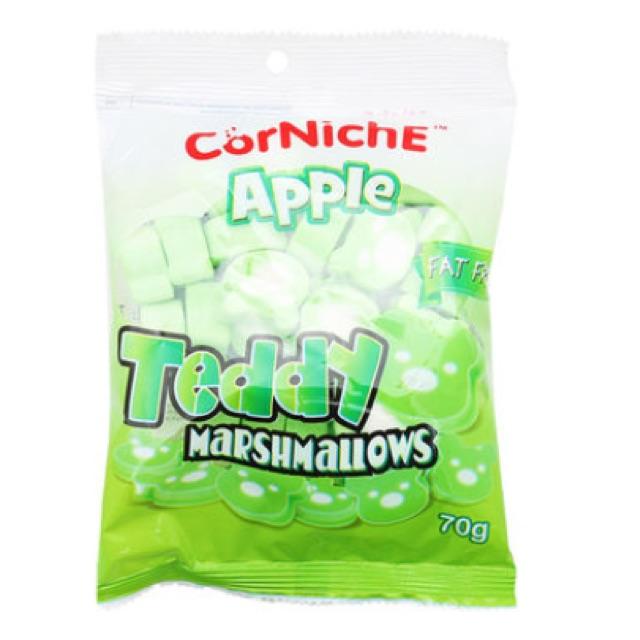 Kẹo Teddy Marshmallows CorNichE Apple 70g
